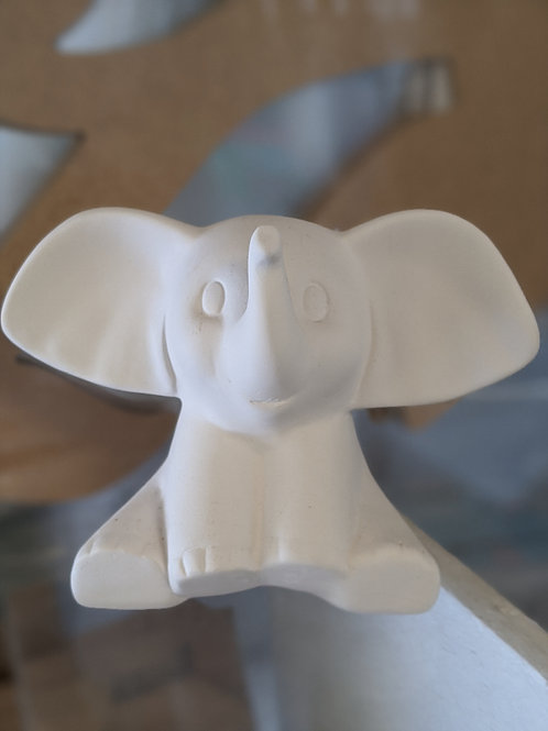 DUMBO Elephant Ceramic + Brushes & Paints Kit