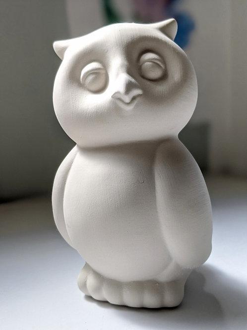 OWL Ceramic +Brushes & Paints Kit