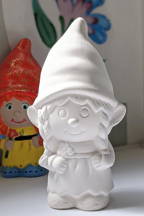 £7 MRS GNOME ceramic only