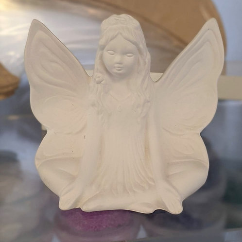 FAIRY (sitting)  Ceramic + Paints Kit