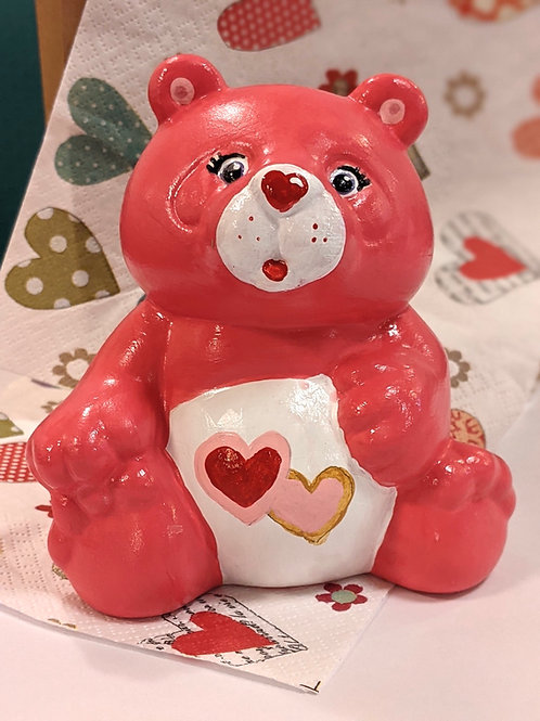 Love-a-lot Carebear ❤️Ceramic + Paints Kit