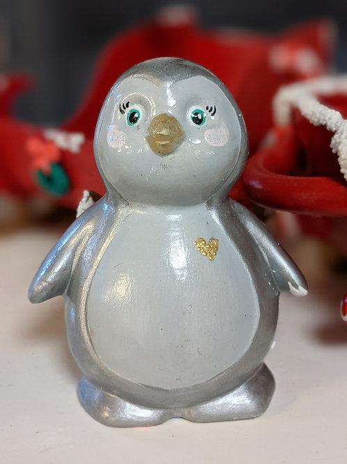 Little Penguin Ceramic + Paints Kit