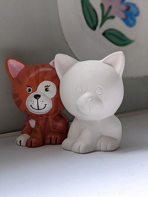 £6.50 Little KITTY ceramic only