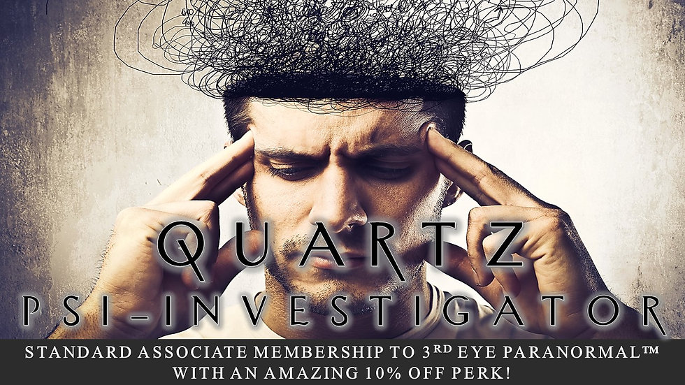 QUARTZ PSI-INVESTIGATOR: Associate Standard Membership Plan