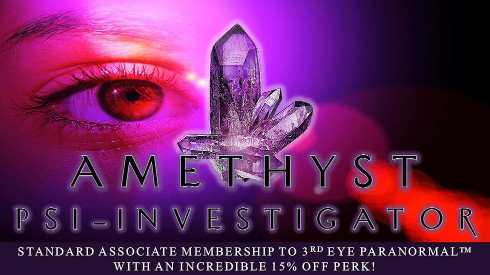 AMETHYST PSI-INVESTIGATOR: Associate Standard Membership Plan