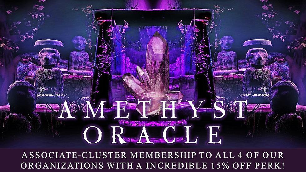 AMETHYST ORACLE: Associate Cluster Membership Plan