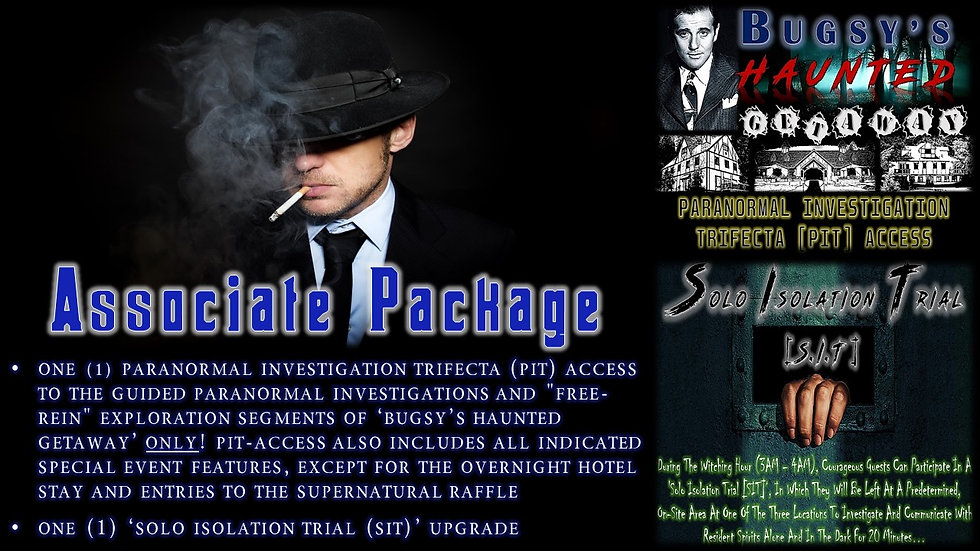 ASSOCIATE PACKAGE: BHG PIT-ACCESS TICKET
