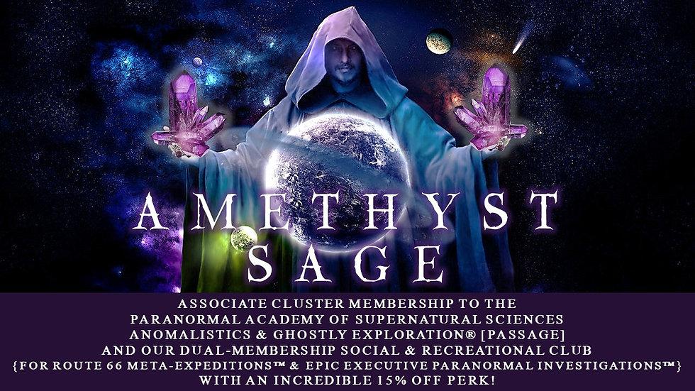 AMETHYST SAGE: Associate Cluster Membership Plan