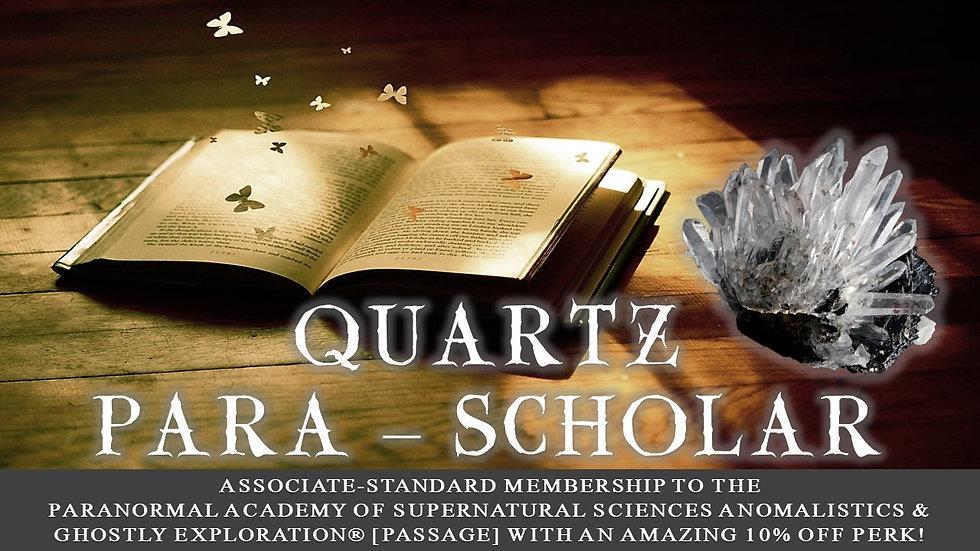 QUARTZ PARA-SCHOLAR: Associate-Standard Membership Plan