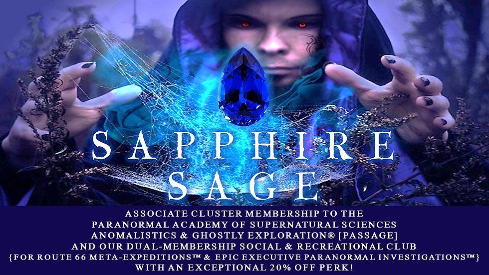 SAPPHIRE SAGE: Associate Cluster Membership Plan