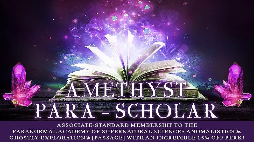 AMETHYST PARA-SCHOLAR: Associate-Standard Membership Plan