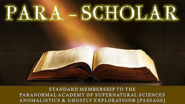 PARA-SCHOLAR: Standard Membership Plan