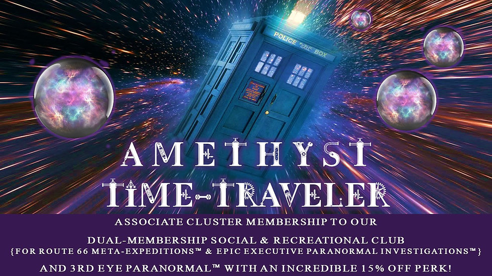 AMETHYST TIME-TRAVELER: Associate Cluster Membership Plan