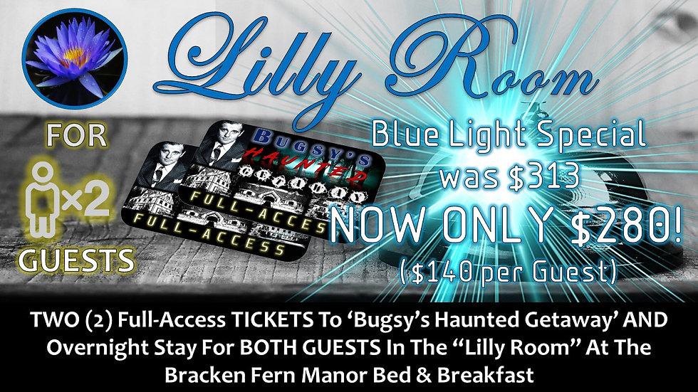 LILLY ROOM: TWO (2) BHG FULL-ACCESS TICKETS