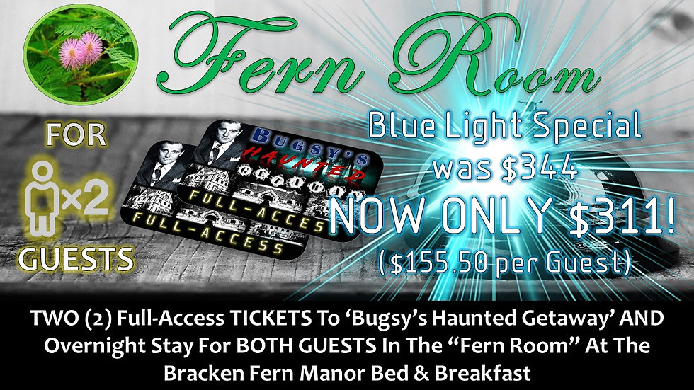 FERN ROOM: TWO (2) BHG FULL-ACCESS TICKETS