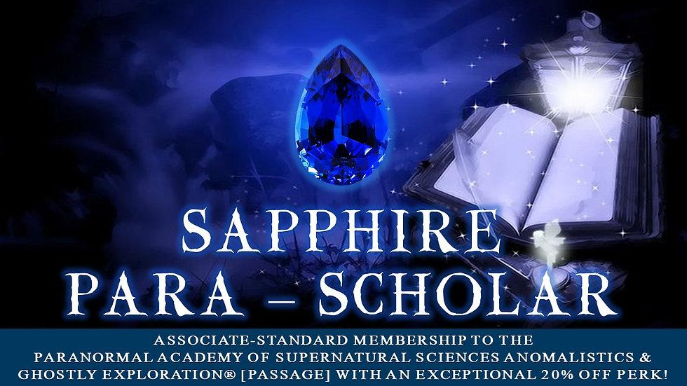 SAPPHIRE PARA-SCHOLAR: Associate-Standard Membership Plan