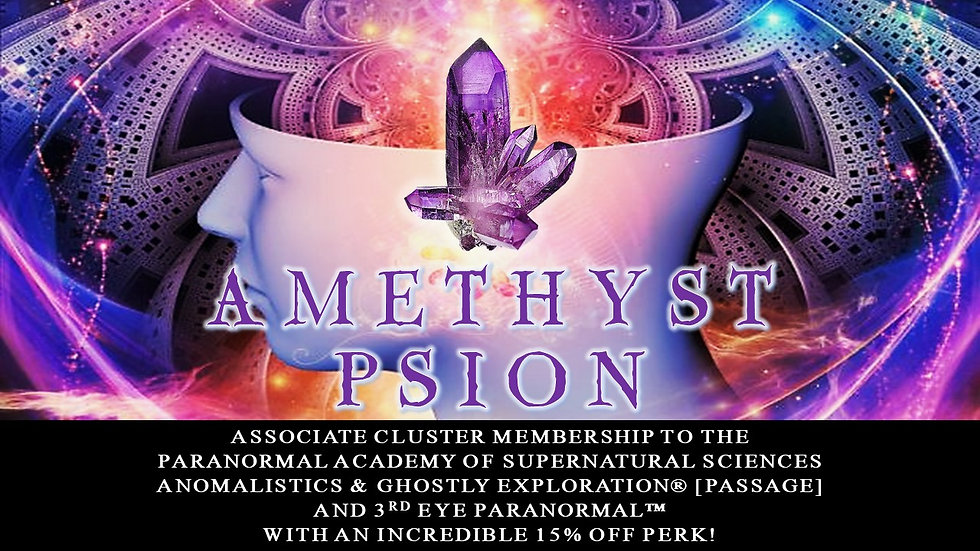 AMETHYST PSION: Associate-Cluster Membership Plan