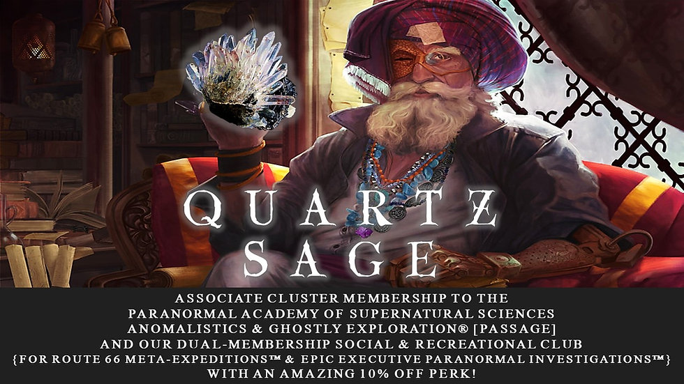 QUARTZ SAGE: Associate Cluster Membership Plan