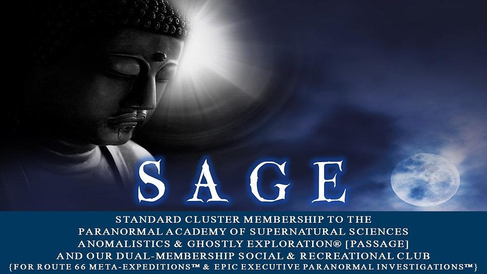 SAGE: Standard Cluster Membership Plan