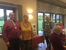 Doubles runners up 2019 Rita Bleach & Te