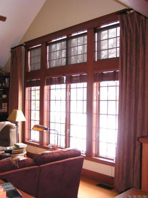Solar Screen on Upper window