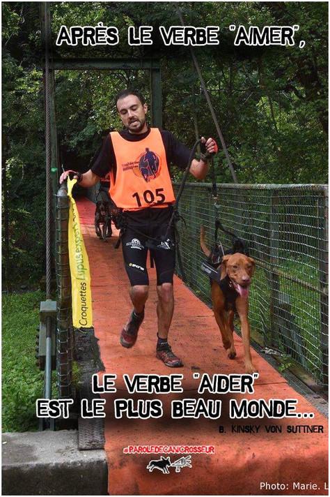 Aider son chien, autant qu'il nous aide...