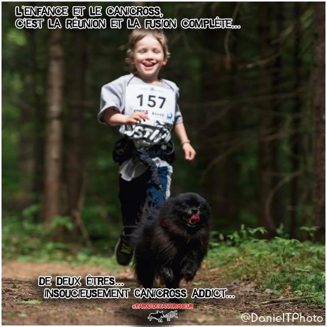 Canicross Enfant chien
