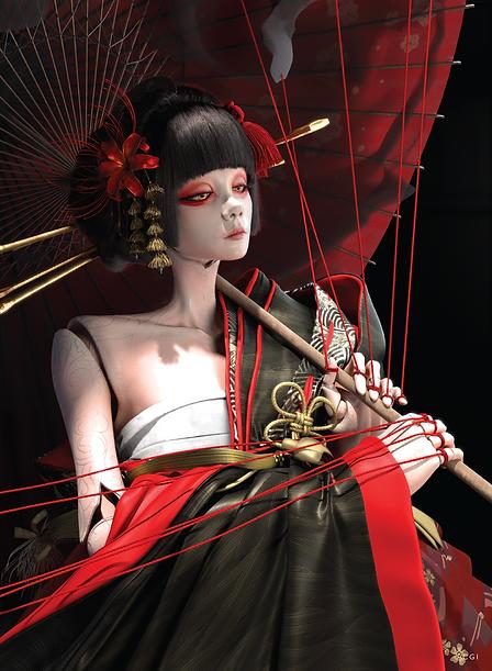 Geisha CGI
