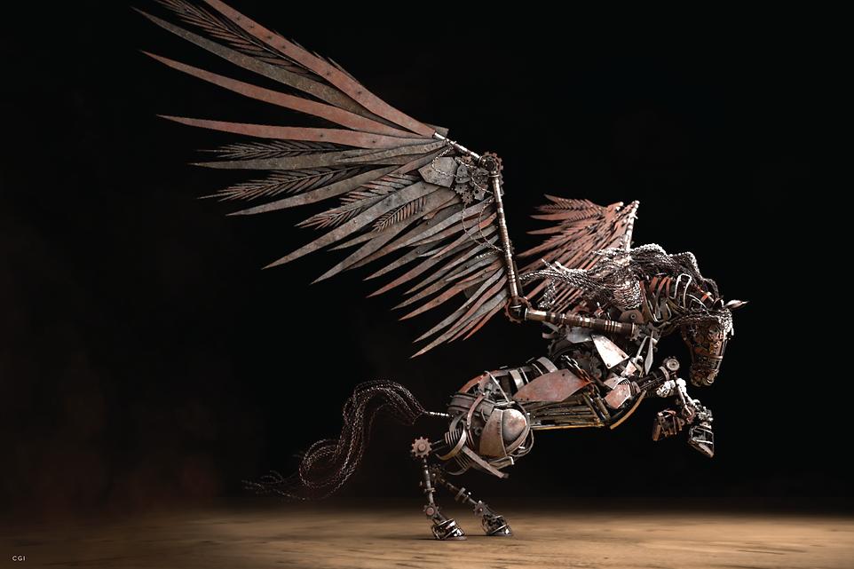 Horse CGI