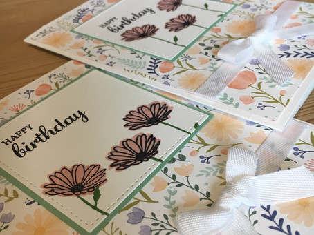 Stampin' Up's Daisy Delight part 1