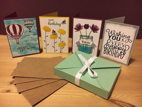 Mini Card Gift Box!!!