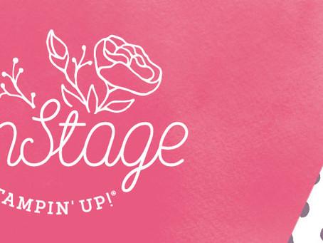 Stampin' Ups OnStage November 2018.