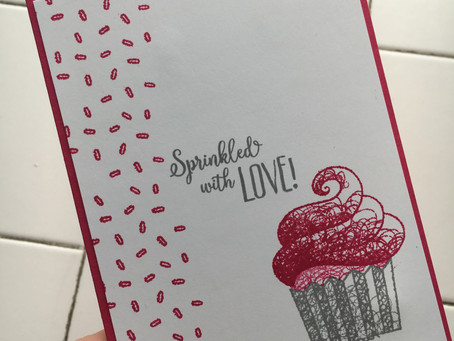 Quick and Easy Card #simplestamping