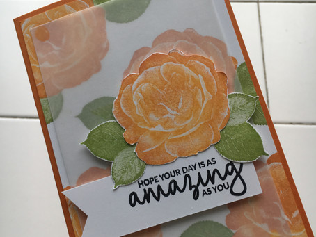 Quick and Easy Card #simplestamping - Healing Hugs.