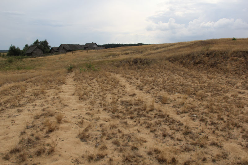 steading at Myleva sand dune