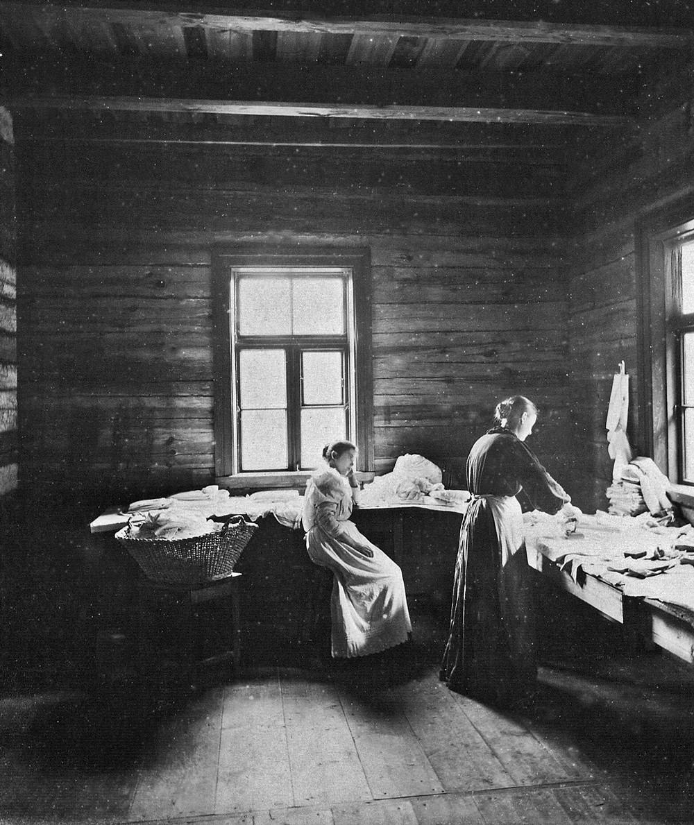 У Вялае ў 1890-х гадох. Фота Бенядыкта Генрыха Тышкевіча, дадзенае дзеля друку Музэем Нісефора Ньепса, Францыя.