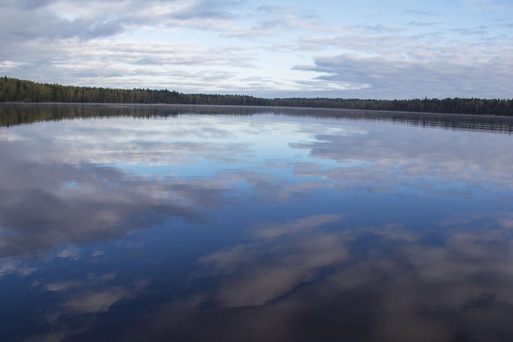 Возера Кромань.
