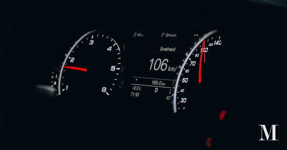 Speedometers in the dark