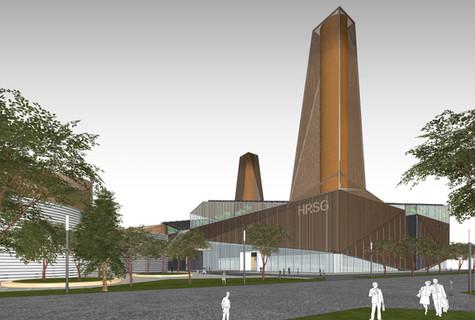 3rd Prize, Daegu Complex, 대구복합 발전소 지명현상