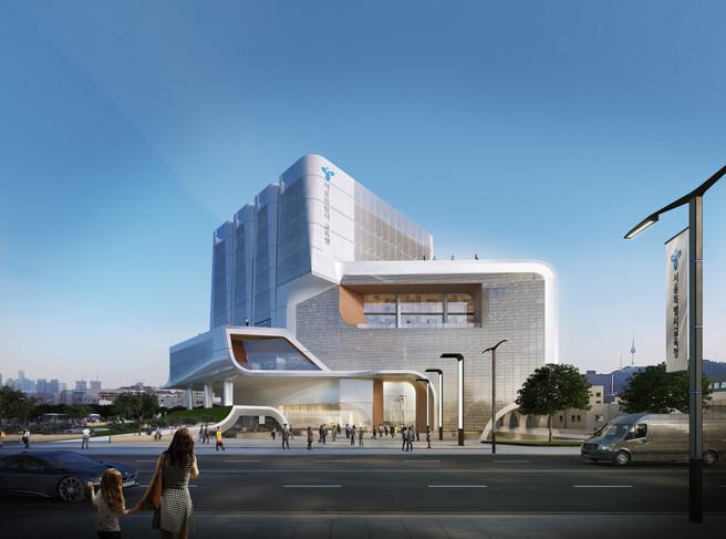 The Oblique, 서울시 교육청사