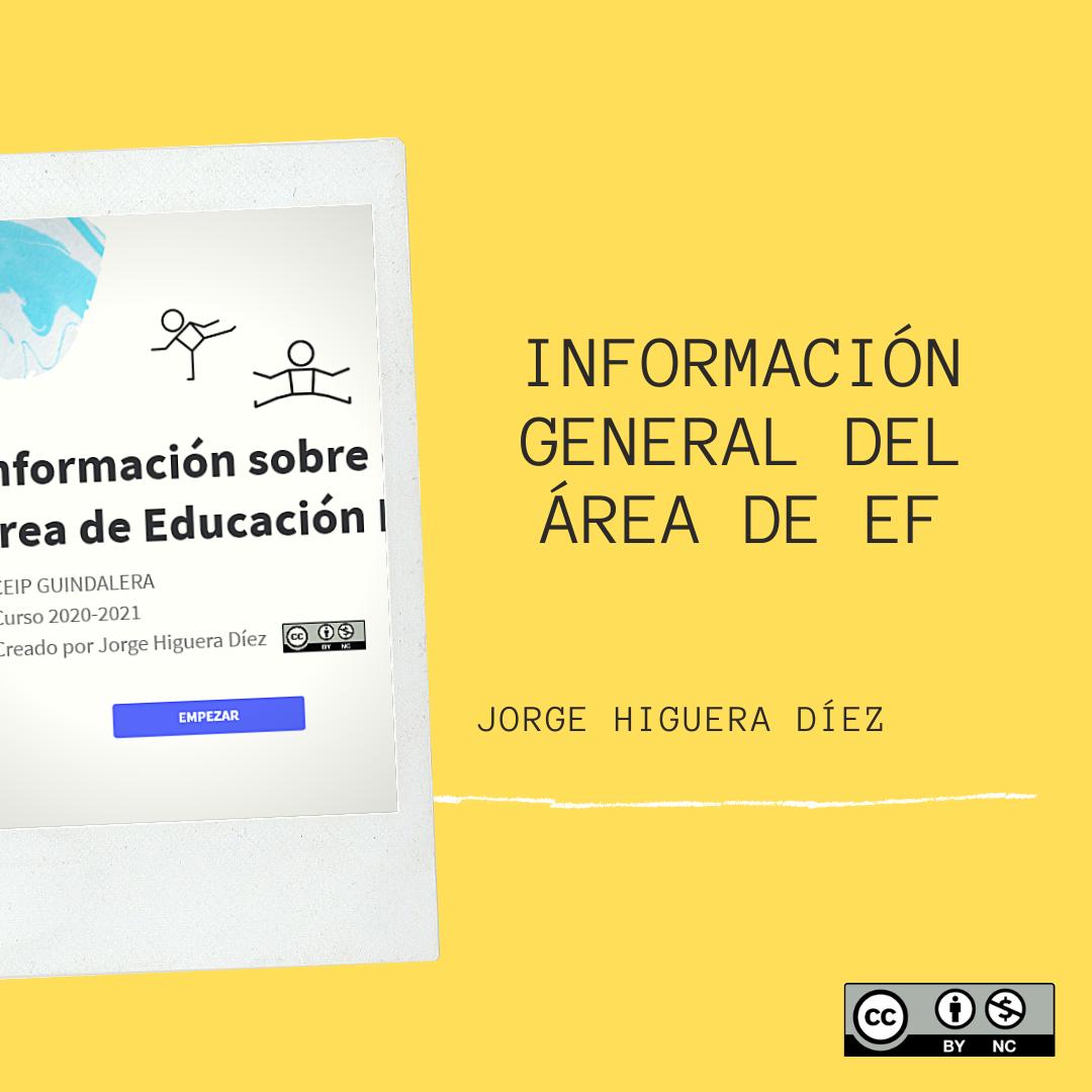Información general de EF