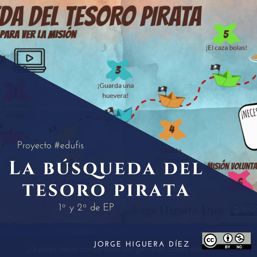 La conquista del tesoro Pirata