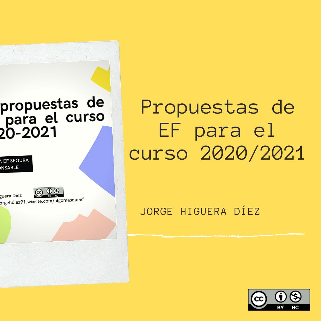 Propuestas en EF para el curso 2020-21