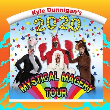 Kyle Dunnigan Mystical Magery Tour