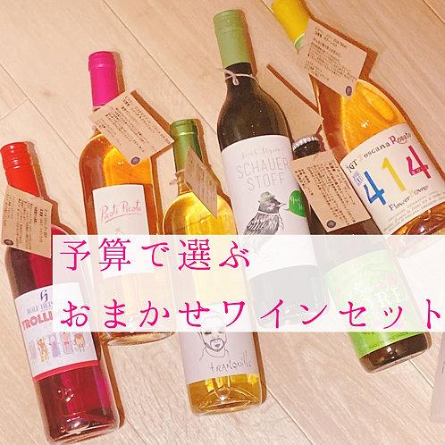 予算で選ぶおまかせワインセット【5,000円】