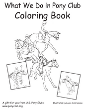 We Hope That Your Child Will Enjoy Learning About What Do In Pony Club With This Fun Informational Coloring Book