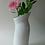 Thumbnail: China Vase. Ceramic Vase. Contemporary Vase. White Vase. Stylish Vase.