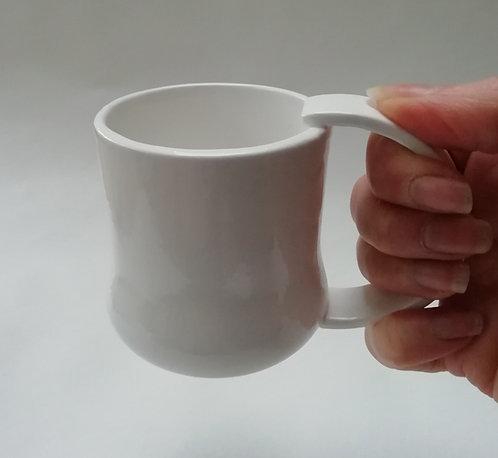 China Mug. Contemporary Mug. Coffee Cup. Simple Mug. Modern Mug.