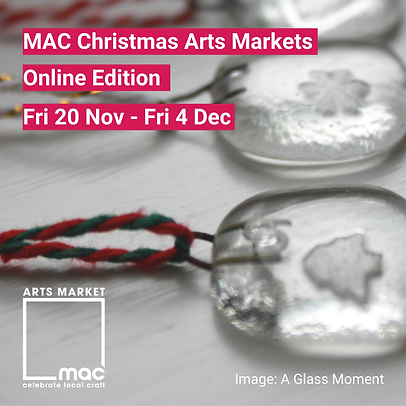 MAC Christmas Arts Markets for social me