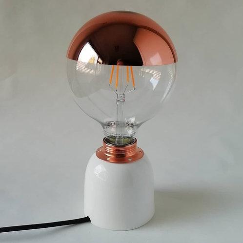 China Small Table Lamp. Contemporary Lamp. Minimalist Lamp. Ceramic Lamp.